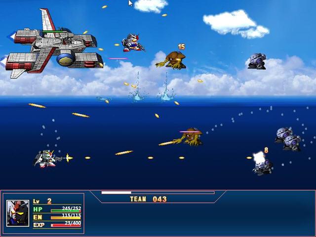 SD高达战场之翼硬盘版截图4