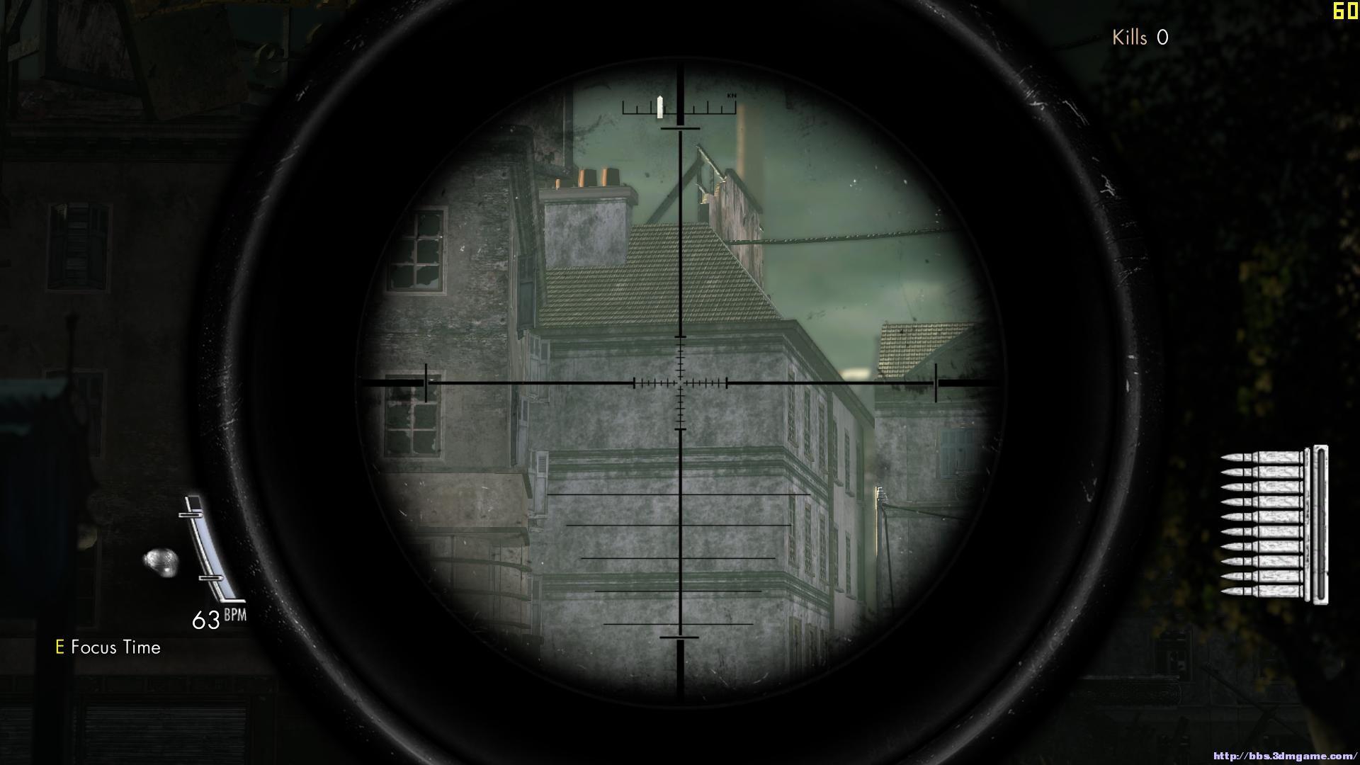 狙击枪瞄准镜结构图