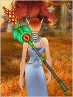 世界 装备/名称:松果法杖掉落:世界掉落