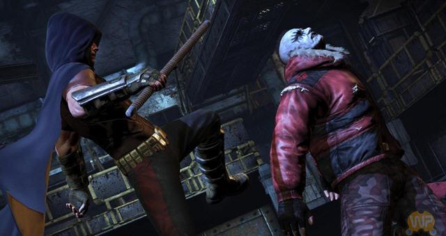 蝙蝠侠阿卡姆之城dlc哈莉奎茵的复仇截图1