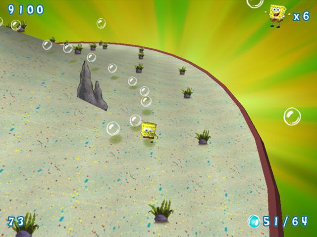 是nickelodeon公司发行的一款海绵宝宝海洋大冒险第二部,出色的3d游戏