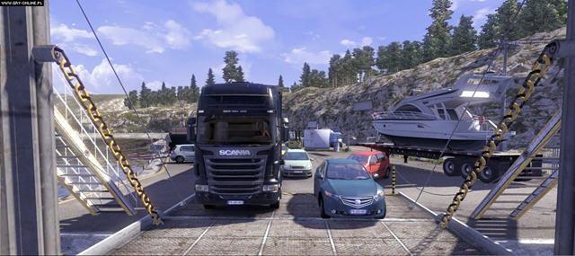 斯堪尼亚重卡驾驶模拟截图1