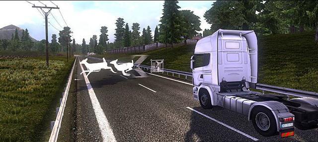 斯堪尼亚重卡驾驶模拟截图2