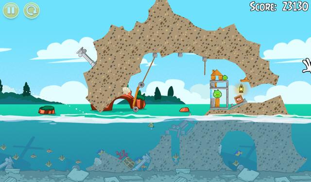 愤怒的小鸟:猪之夏日海洋中文版截图2