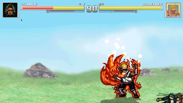 终结命运的战斗火影同人格斗游戏截图2