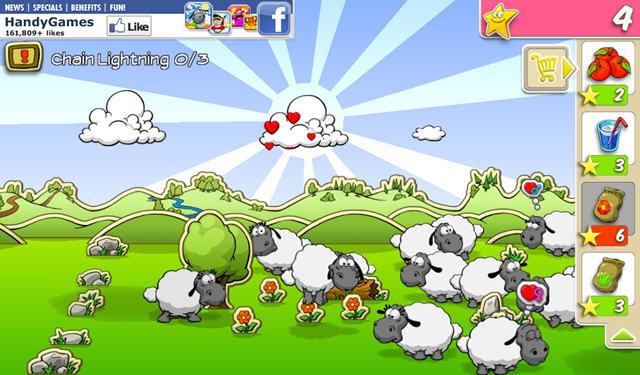 云和绵羊的故事电脑版 放羊的生活忙碌而欢乐