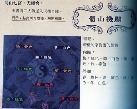 仙剑奇侠传5天权奇阵破解方法