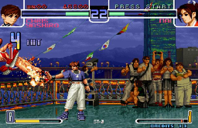拳皇2002原版最终版献给强者的挑战截图0