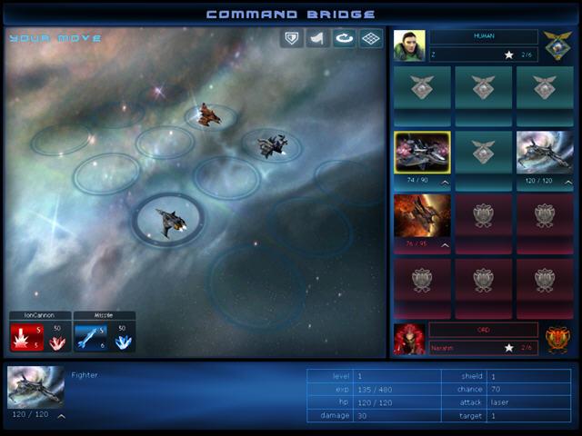 太空战将:星群大战新颖的太空策略游戏截图1