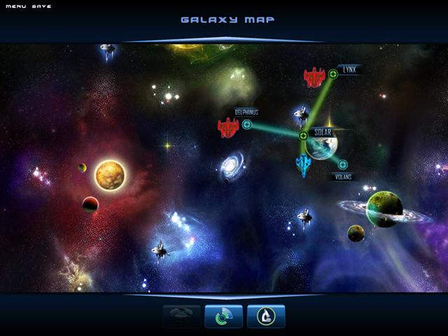 太空战将:星群大战新颖的太空策略游戏截图3