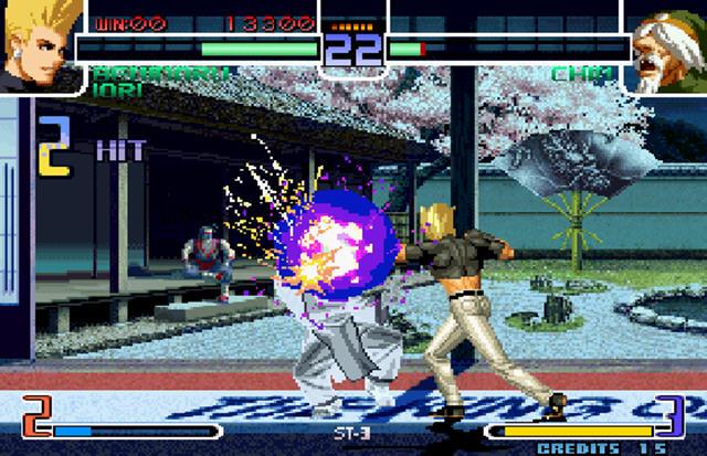拳皇2002原版 高玩们的操作秀场