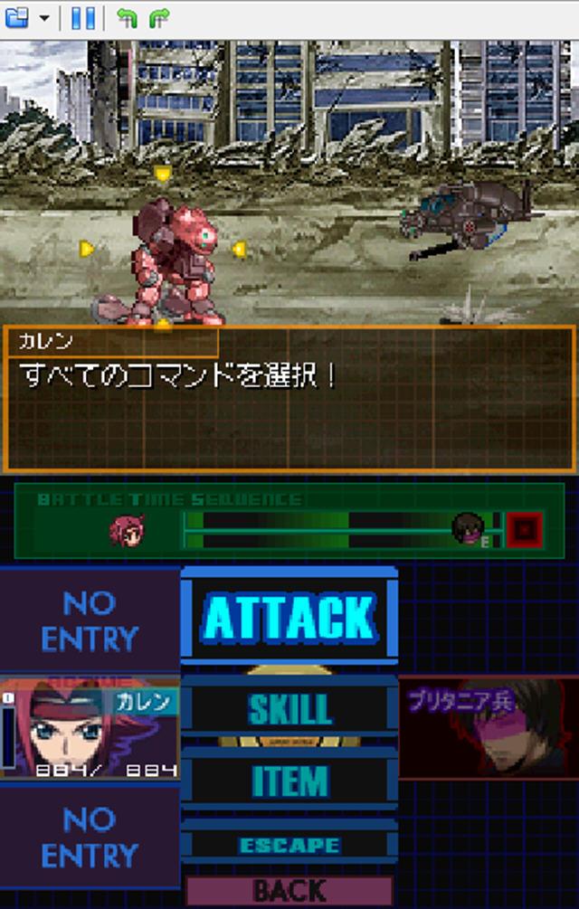 反叛的鲁鲁修(鲁鲁修同人机甲回合制游戏)截图2