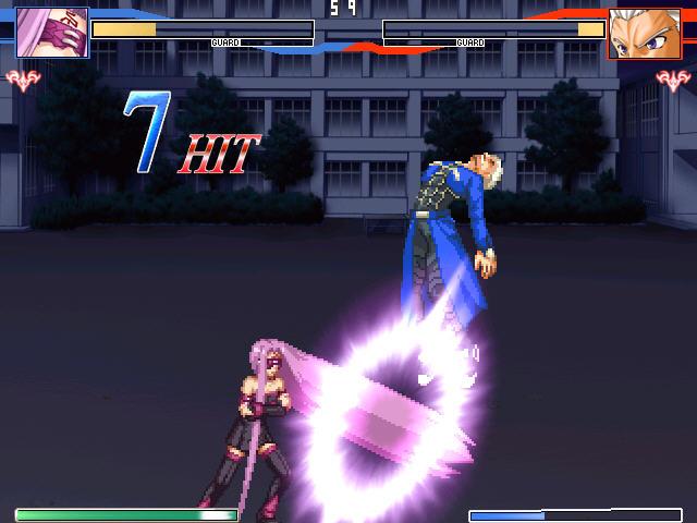 Fate格斗游戏(Fate同人的格斗竞技游戏)截图1