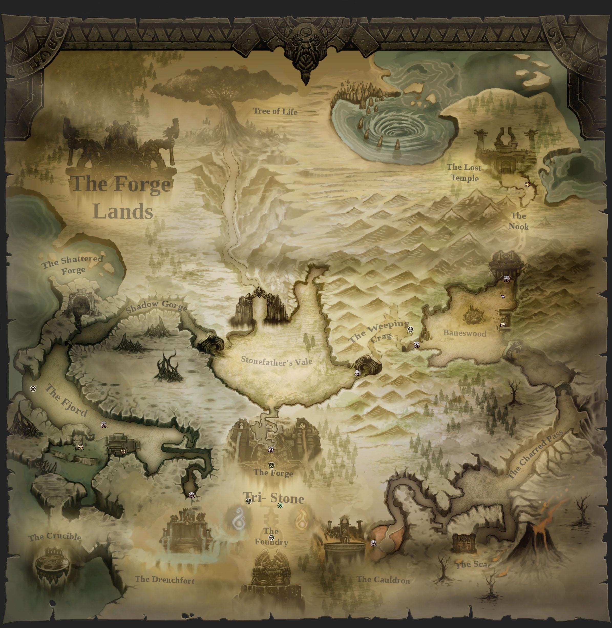 暗黑血统2世界大地图