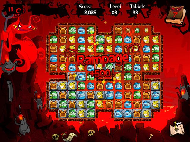天堂与地狱:安其罗的探险 别具一格的消除游戏