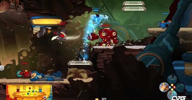 全新横版类dota游戏 王牌英雄强势登场