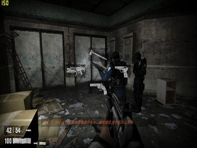 恶梦之屋2(半条命2引擎打造恐怖射击游戏)截图1