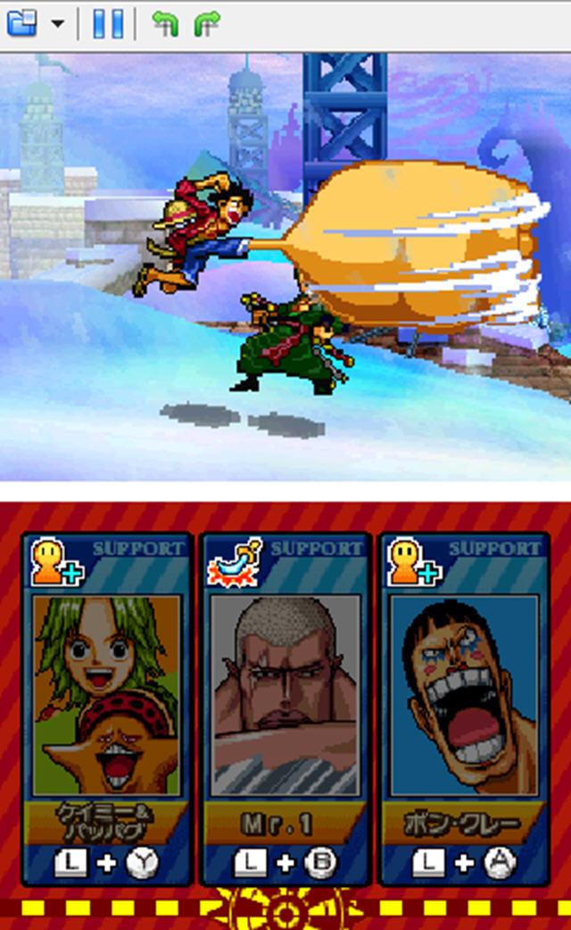 海贼王:巨人战争2新世界(NDS海贼王同人格斗游戏)截图1