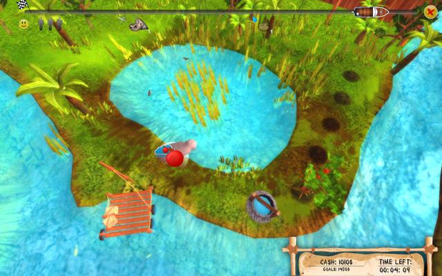 非洲农场热(全新创意的3D动物园模拟游戏)截图1