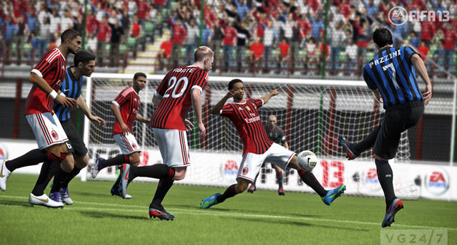 FIFA13测试版发布 更棒画面更多挑战
