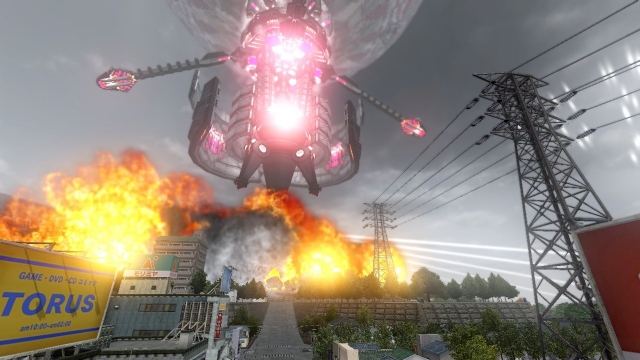 《地球防卫军2025》新载具细节 外星人激光狂射