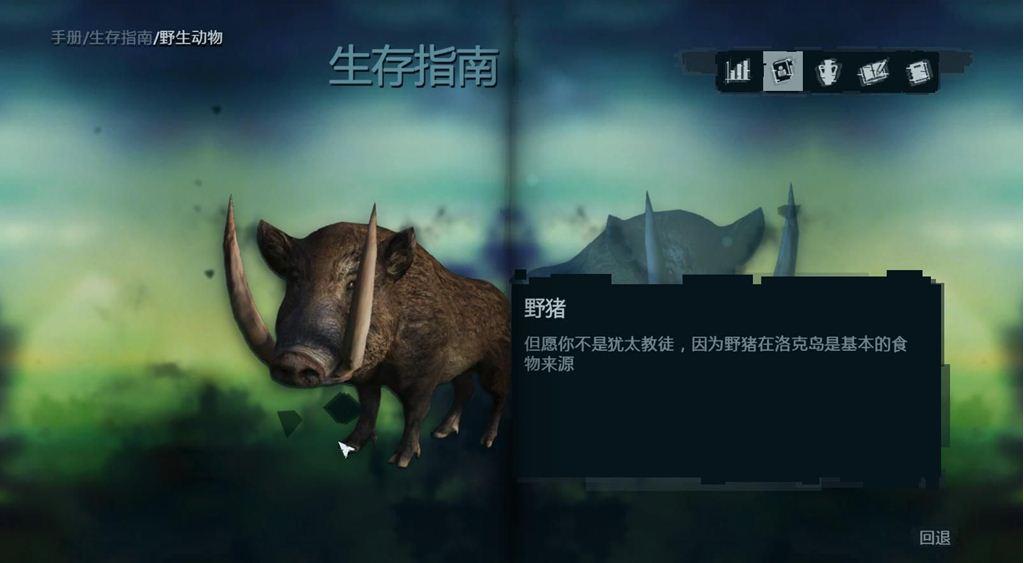 《孤岛惊魂3》野生动物大全