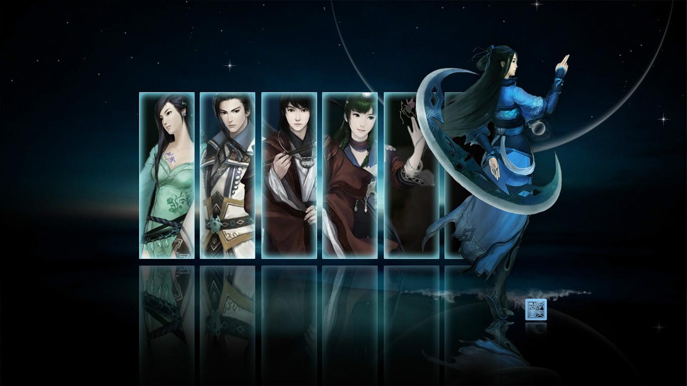 壁纸 前传/《仙剑5前传》游戏壁纸第一辑...