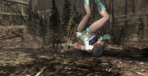 《生化危机4》mod绿色短裙服装