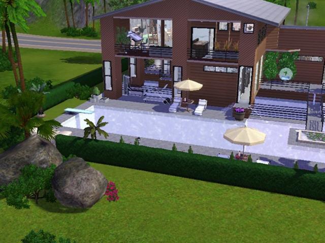 模拟人生3别墅MOD