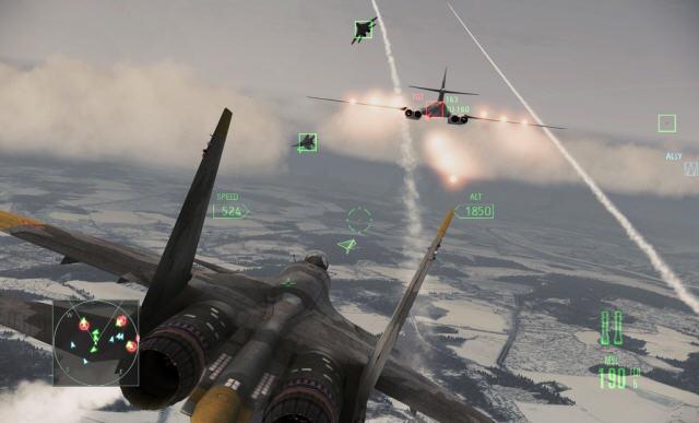 皇牌空战7:突击地平线PC破解版截图0