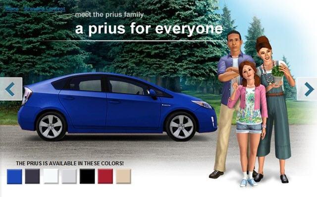模拟人生3丰田普锐斯家庭套件MOD
