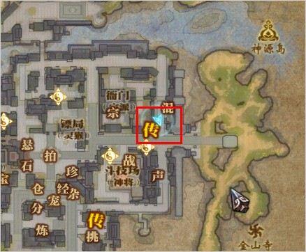 斗战神金不换在哪里 坐标位置