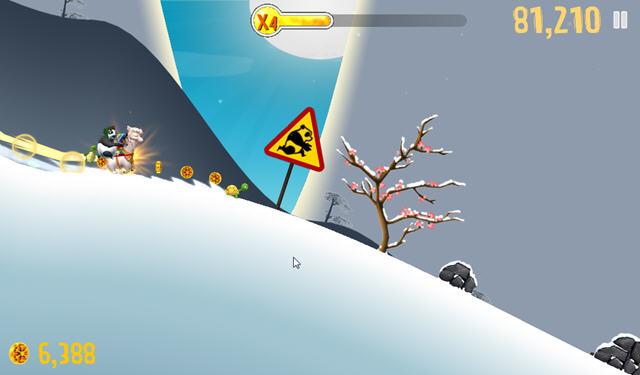 滑雪大冒险神兽谷破解版|滑雪大冒险中文破解