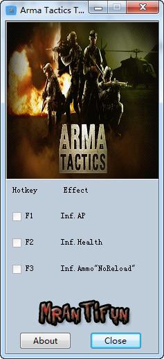 武装突袭:策略修改器+3