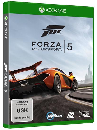 《极限竞速5》Xbox One盒装封面曝光