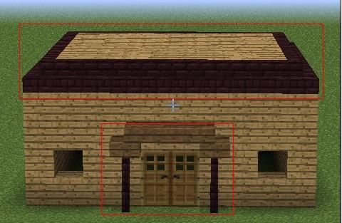 性,玩家可以通过后期的发展来完善,下面是游戏中最简单的房子制作方法图片
