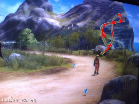 地图 永恒/然后这里按照箭头指示走。如果你来回在两个地图之间走水晶是不...