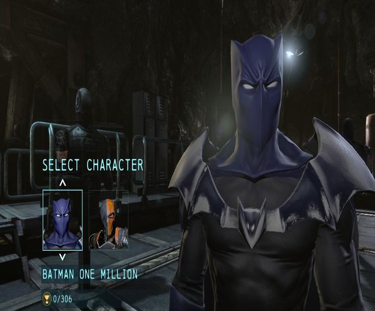 蝙蝠侠阿卡姆起源R组皮肤解锁补丁
