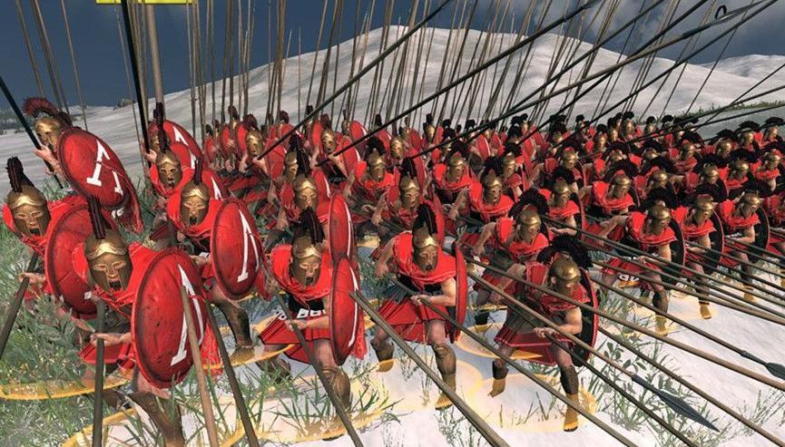 罗马2:全面战争斯巴达枪兵MOD