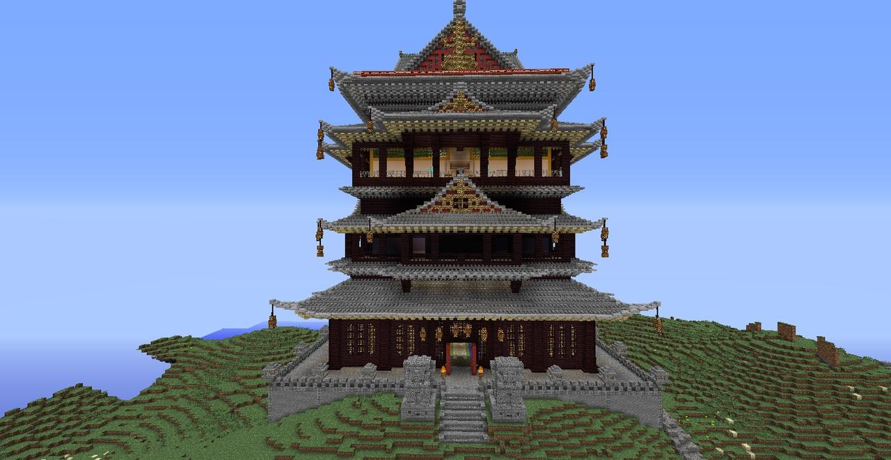 我的世界中式神奇建筑