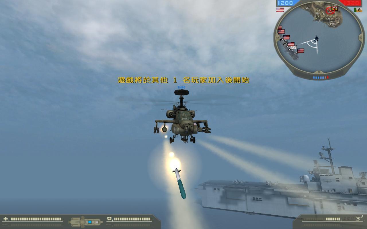 战地2武直和战斗机截图