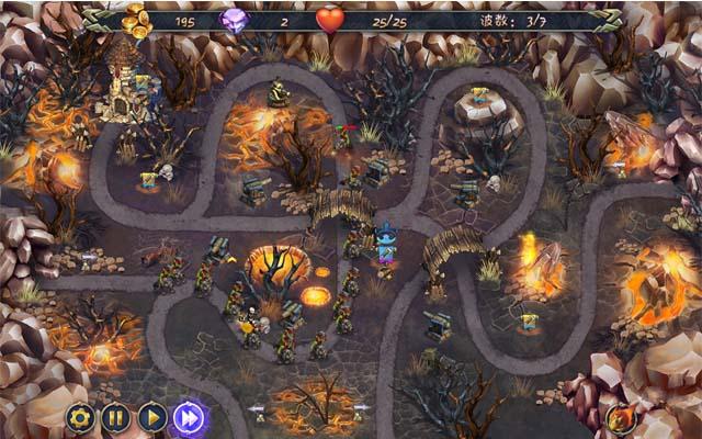 皇家塔防3:古老的威胁游戏中文汉化版-下载下ipad上机器人游戏攻略图片