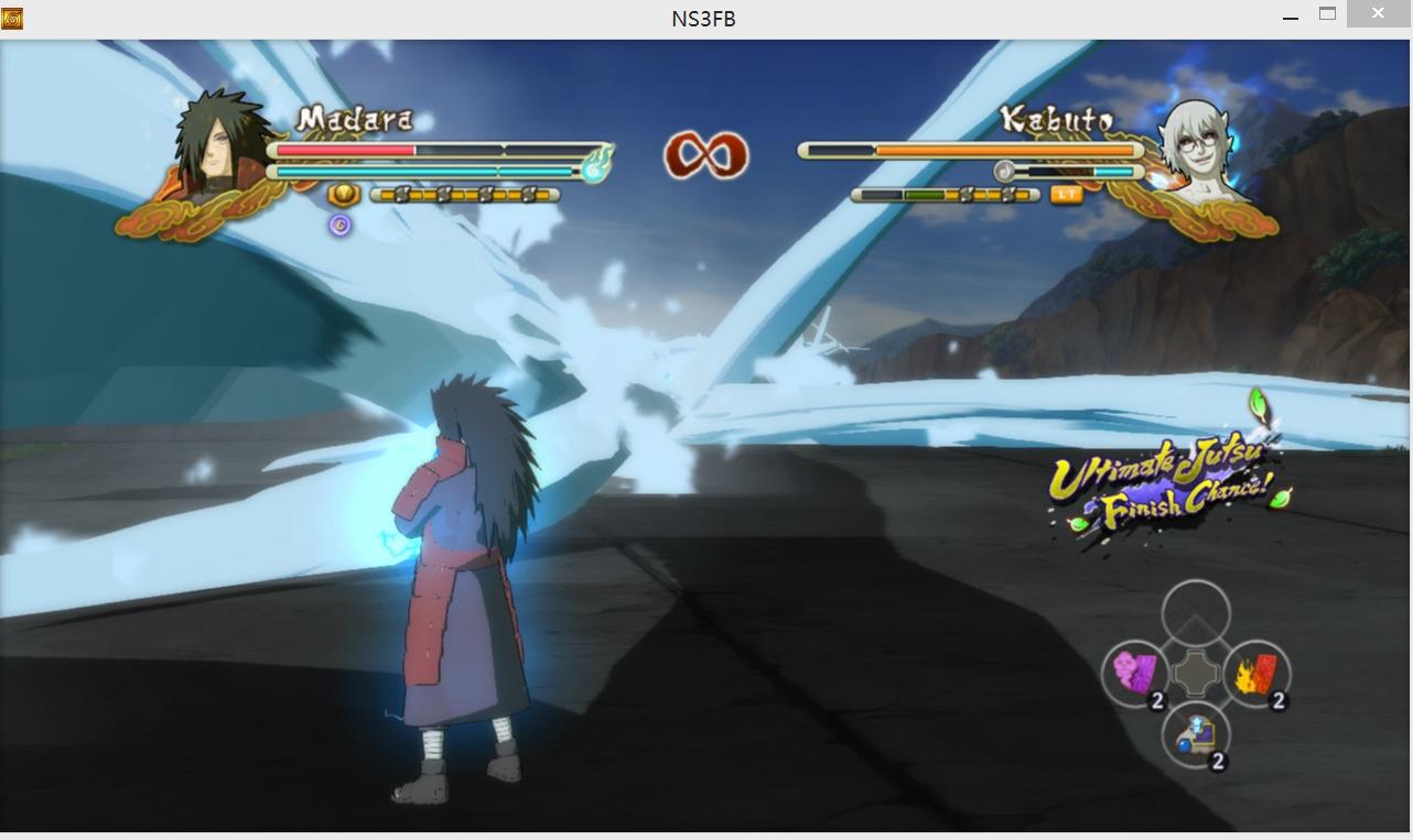火影忍者:究极忍者风暴3斑爷水龙MOD