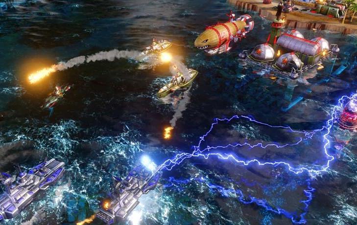 《命令与征服:红色警戒3》BestBuy预订附赠地图