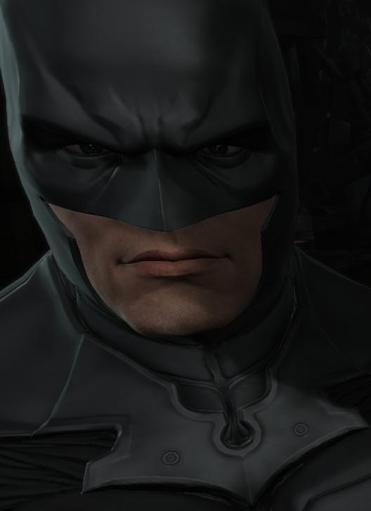 蝙蝠侠:阿卡姆起源干净的胡须