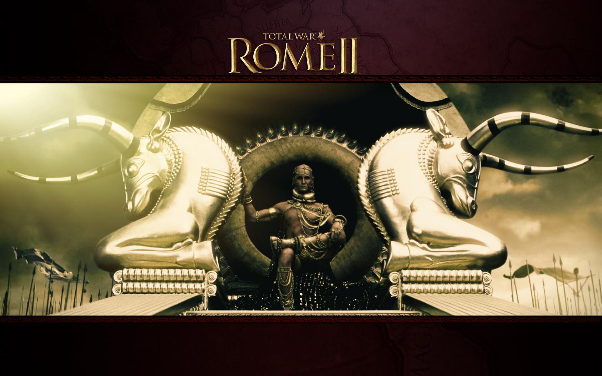罗马2:全面战争绝美读取画面整合包