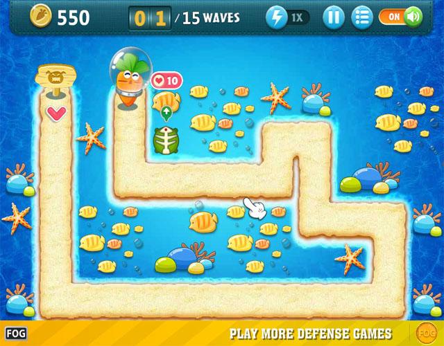 保卫萝卜海底PC版截图0
