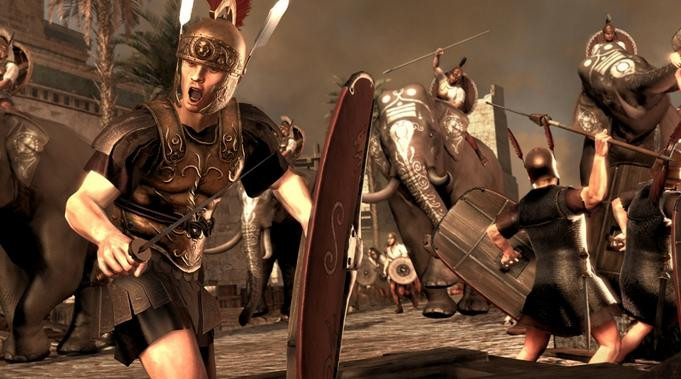 罗马2:全面战争卫生建筑加倍MOD