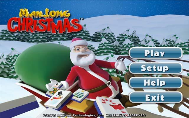 圣诞节麻将