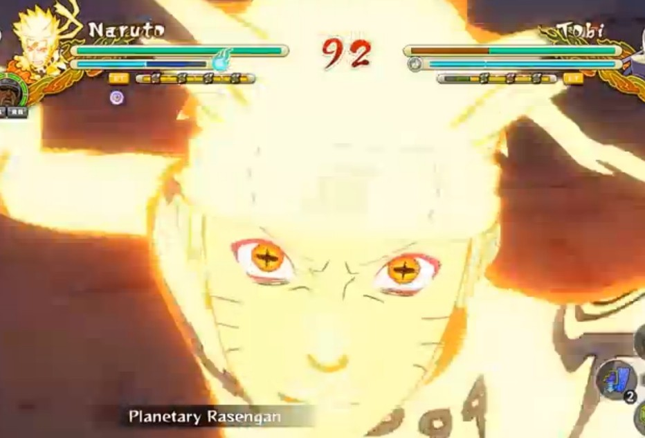 火影忍者究极风暴3十字眼鸣人MOD